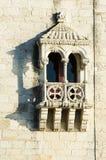 Torre de贝拉母窗口 免版税库存图片