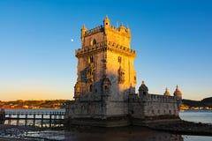 Torre de贝拉母联合国科教文组织世界遗产名录视域欧洲历史曲拱 免版税库存图片