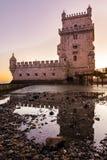 Torre de贝拉母联合国科教文组织世界遗产名录视域欧洲历史曲拱 免版税库存照片