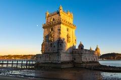 Torre de贝拉母联合国科教文组织世界遗产名录视域欧洲历史曲拱 库存照片