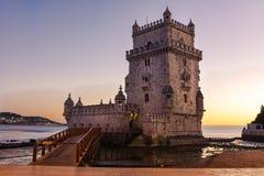 Torre de贝拉母联合国科教文组织世界遗产名录视域欧洲历史曲拱 免版税图库摄影