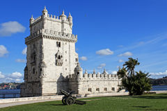 Torre de贝拉母,葡萄牙 免版税库存照片