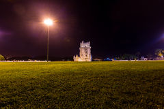 Torre de贝拉母,里斯本,葡萄牙 库存照片