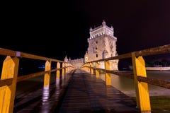 Torre de贝拉母,里斯本,葡萄牙 图库摄影