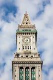 Torre de aduanas de Boston, Massachusetts - los E.E.U.U. Fotografía de archivo