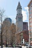 Torre de aduanas en Boston céntrica Fotos de archivo