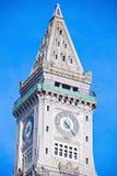 Torre de aduanas en el centro de Boston Foto de archivo libre de regalías
