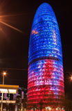 Torre de Agbar Imagenes de archivo