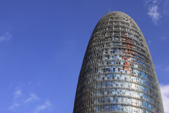 Torre de Agbar Foto de archivo