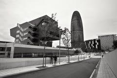 Torre de Agbar Fotos de Stock Royalty Free