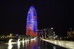 Torre de Agbar Imagens de Stock Royalty Free
