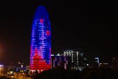 Torre de Agbar Fotografia de Stock Royalty Free