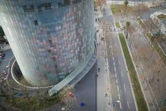 Torre de Agbar Imagen de archivo