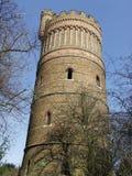 Torre de agua de Croydon en colina del parque tierra de reconstrucción foto de archivo libre de regalías