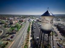 Torre de agua de Arvada de la ciudad de Olde Fotos de archivo