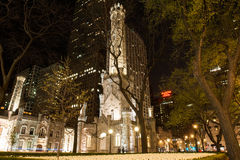 Torre de agua de Chicago Foto de archivo
