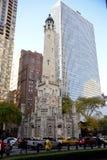 Torre de agua de Chicago Fotografía de archivo