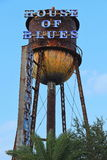Torre de agua de House of Blues en las primaveras de Disney Foto de archivo libre de regalías