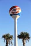 Torre de agua de la playa de Pensacola Foto de archivo libre de regalías