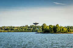 Torre de agua de Lauttasaari, Helsinki Foto de archivo libre de regalías