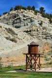 Torre de agua del ferrocarril Foto de archivo
