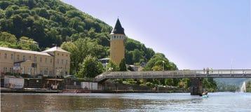 Torre de agua en el mán ccsme Alemania foto de archivo libre de regalías