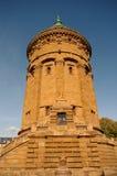 Torre de agua en Mannheim, Alemania Foto de archivo libre de regalías