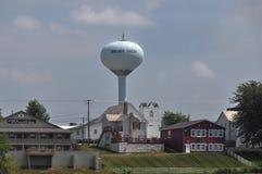 Torre de agua en Walnut Creek, Ohio fotografía de archivo libre de regalías