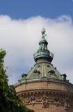 Torre de agua Mannheim fotografía de archivo libre de regalías