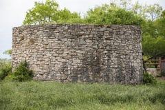 Torre de agua occidental vieja del ladrillo Imágenes de archivo libres de regalías