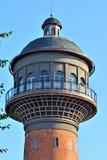 Torre de agua - símbolo de la ciudad Zelenogradsk hasta el 1946 Cranz Imagen de archivo libre de regalías