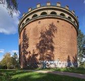 Torre de agua vieja Imágenes de archivo libres de regalías