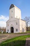 Torre de agua de Vodovzvodnaya en el estado Kolomenskoye del museo Foto de archivo
