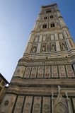Torre de alarma de Florencia Giotto Imagen de archivo libre de regalías