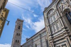 Torre de alarma de Giotto foto de archivo libre de regalías