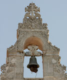 Torre de alarma de iglesia de Argiroupolis 1 foto de archivo