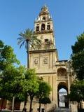Torre de alarma de la catedral en Córdoba, España Foto de archivo libre de regalías
