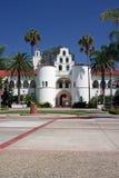 Torre de alarma de la universidad de estado de San Diego foto de archivo libre de regalías