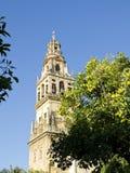 (Torre de Alminar en la catedral de la mezquita, Mezquita de Córdoba Anda Fotos de archivo