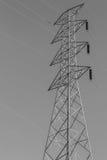 Torre de alta tensão fotos de stock