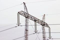 Torre de alta tensão Foto de Stock