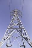 Torre de alta tensão Imagem de Stock Royalty Free