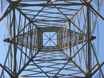 Torre de alto voltaje 3 Imágenes de archivo libres de regalías