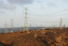 Torre de alto voltaje Imagen de archivo