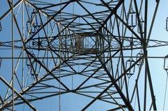 Torre de alto voltaje Fotografía de archivo libre de regalías