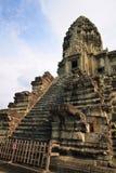 Torre de Angkor Wat Imágenes de archivo libres de regalías