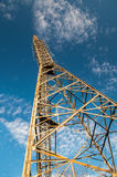 Torre de antena Foto de archivo libre de regalías