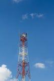 Torre de antena das telecomunicações Imagem de Stock Royalty Free