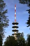Torre de antena de la comunicación Fotografía de archivo