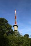 Torre de antena de la comunicación Foto de archivo libre de regalías